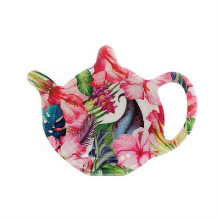 Tea bag Holder, Tropical Paradise